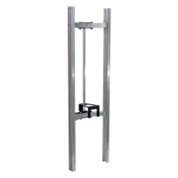 Aluminum Curved Back Frame with Keg Hook